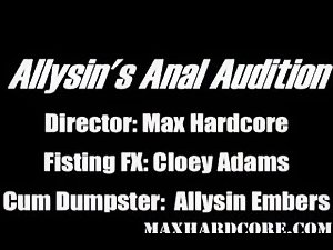 Anal audition