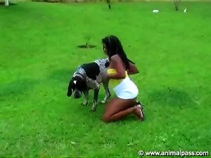 Animal Sex Brazilian Girl Fucking Dog